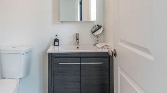 Grey and White Bathrooms