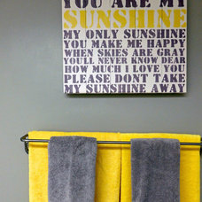 Contemporary Bathroom by Dominika Pate Interiors