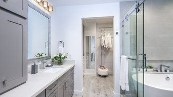 Grey Chic Master Bathroom remodel