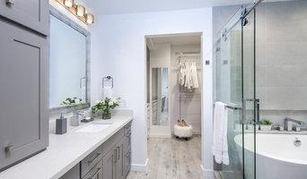 Grey Chic Master Bathroom remodel