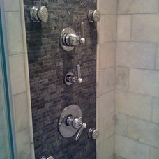 Modern Bathroom by Black Diamond Contracting Corp.
