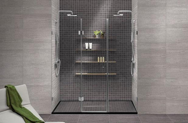 Contemporary Bathroom by Metro Tiles Geebung