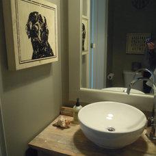 Contemporary Bathroom by Chris  Kauffman