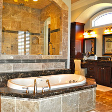 Traditional Bathroom by David Acton Building Corp.