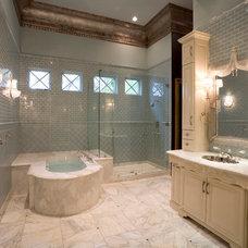 Mediterranean Bathroom by Jonn Spradlin Design LLC