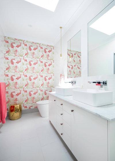 10 idées déco pour pimenter une salle de bains blanche - Salle De Bains Blanche