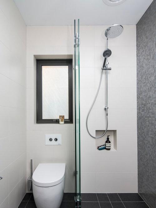 Bagno mattonelle grigie cm grigio marmo guardare - Piastrelle grigie bagno ...