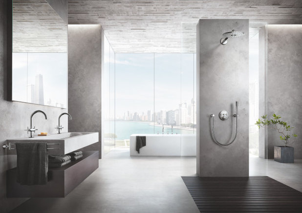 Bathroom by GROHE US