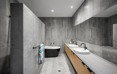 The Beauty of Monotone Bathrooms