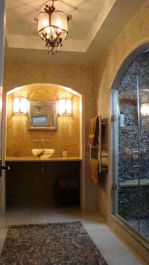 Grotto-like Bathroom