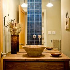 Contemporary Bathroom by Blue Garnet Design/The Design Mill