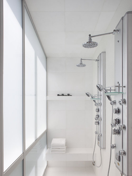 Dual Shower Head Placement | Houzz