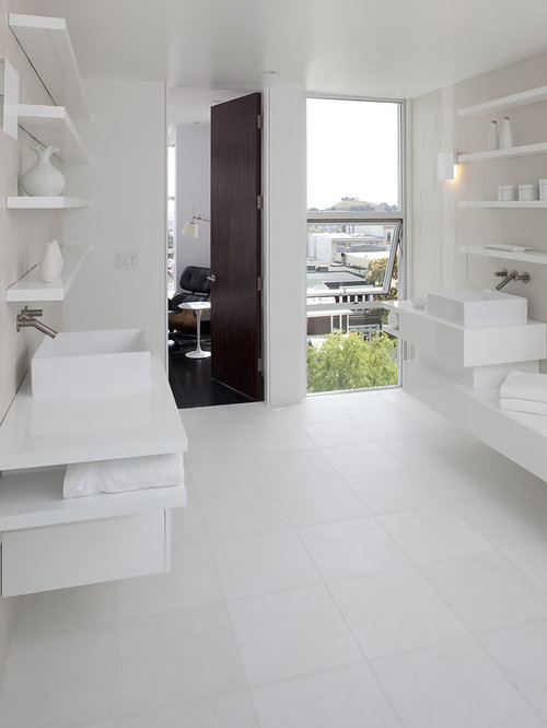 houzz | all white bathroom design ideas & remodel pictures