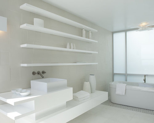 All White Bathroom all white bathroom | houzz