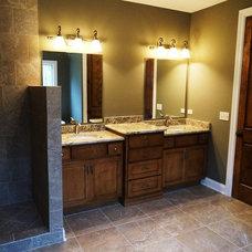 Traditional Bathroom by DJK Custom Homes