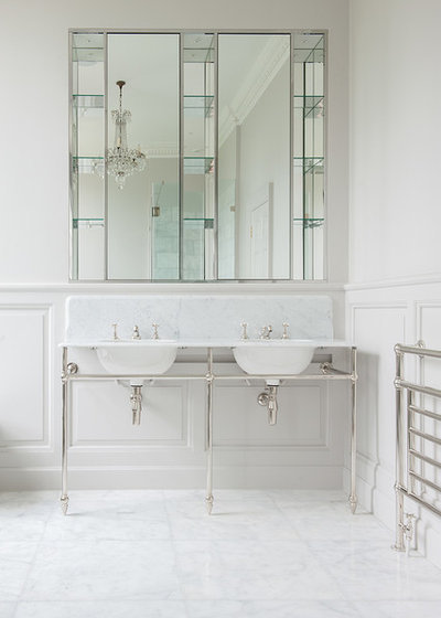 Traditional Bathroom by Cave Interiors