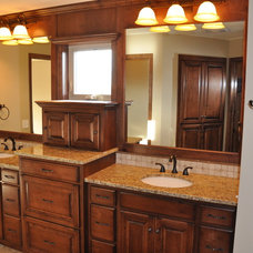 Traditional Bathroom by Werschay Homes