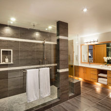 Contemporary Bathroom by Harbour City Kitchens