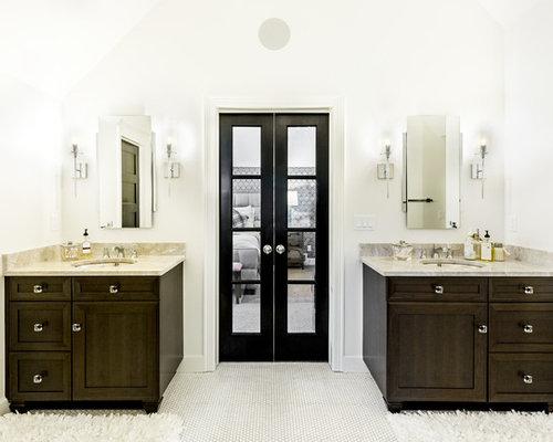 Bagno Legno E Mosaico : Bagno con pavimento con piastrelle a mosaico albuquerque foto
