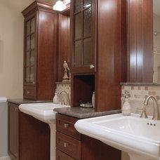 Traditional Bathroom by Cynthia Murphy