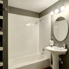Traditional Bathroom by Round Here Renovations, LLC