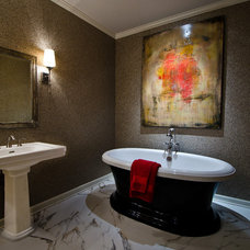 Contemporary Bathroom by Ami Austin Interior Design