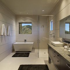 modern bathroom by Angelica Henry Design
