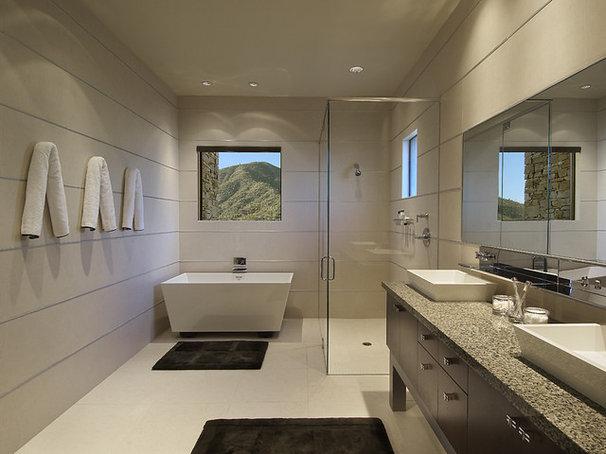 Modern Bathroom by Angelica Henry Design