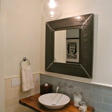 Eclectic Bathroom by B.Design