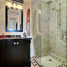 Traditional Bathroom by Clarke Muskoka Construction