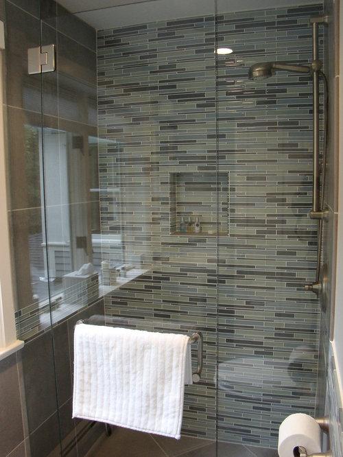 Lastest  Bathroom Design Ideas Renovations Amp Photos With Multicoloured Tile