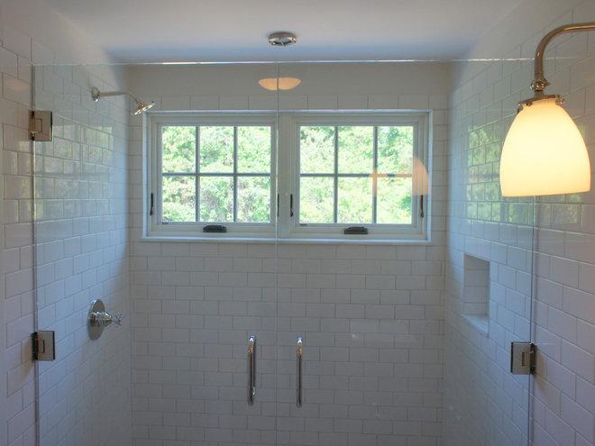 Eclectic Bathroom by Giambastiani Design