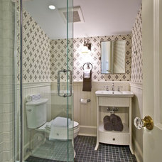 Traditional Bathroom by Gustavson Dundes