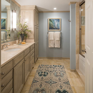 Guest Bath in Luxe Transitional Hi-Rise Residence