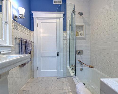 Piastrelle bagno viola. gallery of esempio di un piccolo bagno di