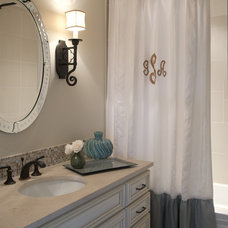 Traditional Bathroom by Julie Couch Interiors