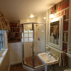 Eclectic Bathroom by Nunley Custom Homes