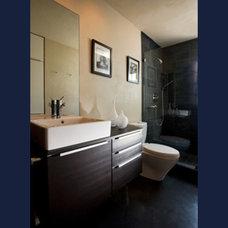 Modern Bathroom by J. Brian Pignanelli