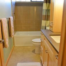Traditional Bathroom by Julia Williams, ASID