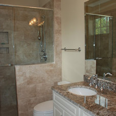 Traditional Bathroom by Priester's Custom Contracting, LLC