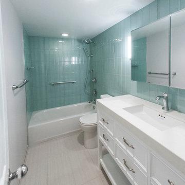 Guest Bath Remodel   Seven Corners, CA
