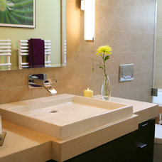 Modern Bathroom by Chris Donatelli Builders