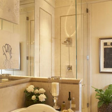 Contemporary Bathroom by Val Fiscalini Designs, Allied ASID