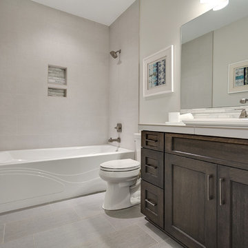 Guest Bath - The Aerius - Two Story Modern American Craftsman