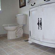Traditional Bathroom by RJ Maillie Jr LLC