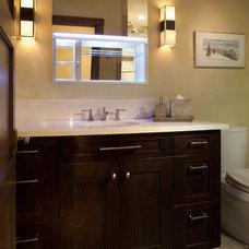 Modern Bathroom by V. Betty Inc. Interior Design