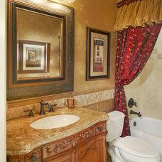 Mediterranean Bathroom by Euro Design/Build/Remodel