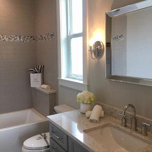 Guest Bath with Granite Countertop