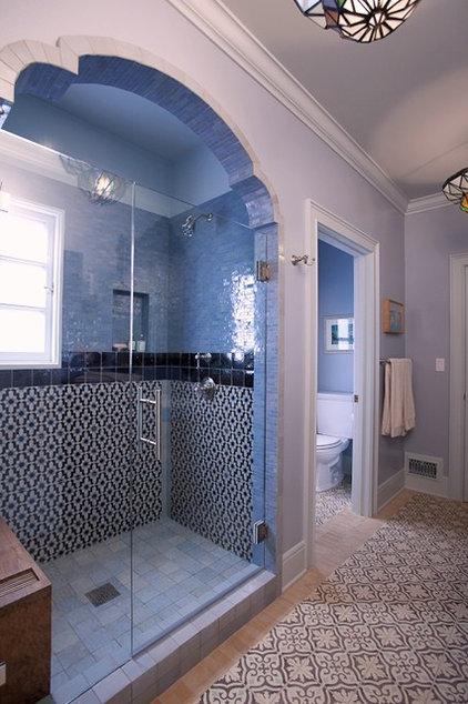 Eclectic Bathroom by Abbott Moon