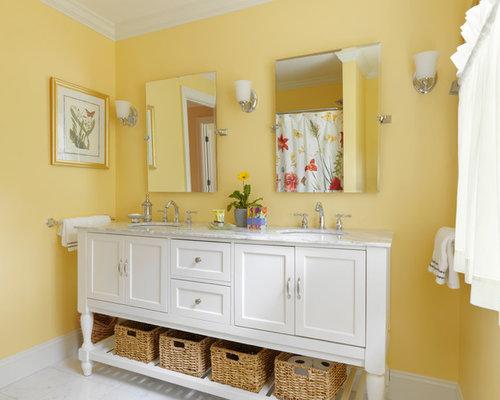 Fotos de baños   Diseños de baños con lavabo tipo consola en Burlington